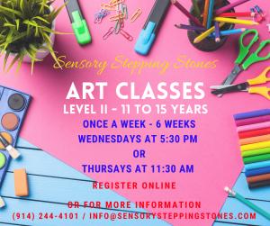 Art Level II - 11 and older