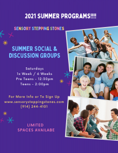 Summer Teen Discussion Groups