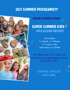 Super Summer Kids Discussion Groups