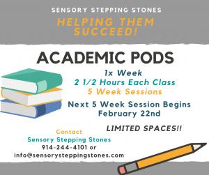 Academic Pods 2021 Feb